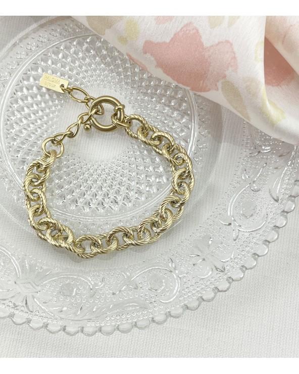 Bracelet gros fermoir - Acier chirurgical - paloma Bijoux