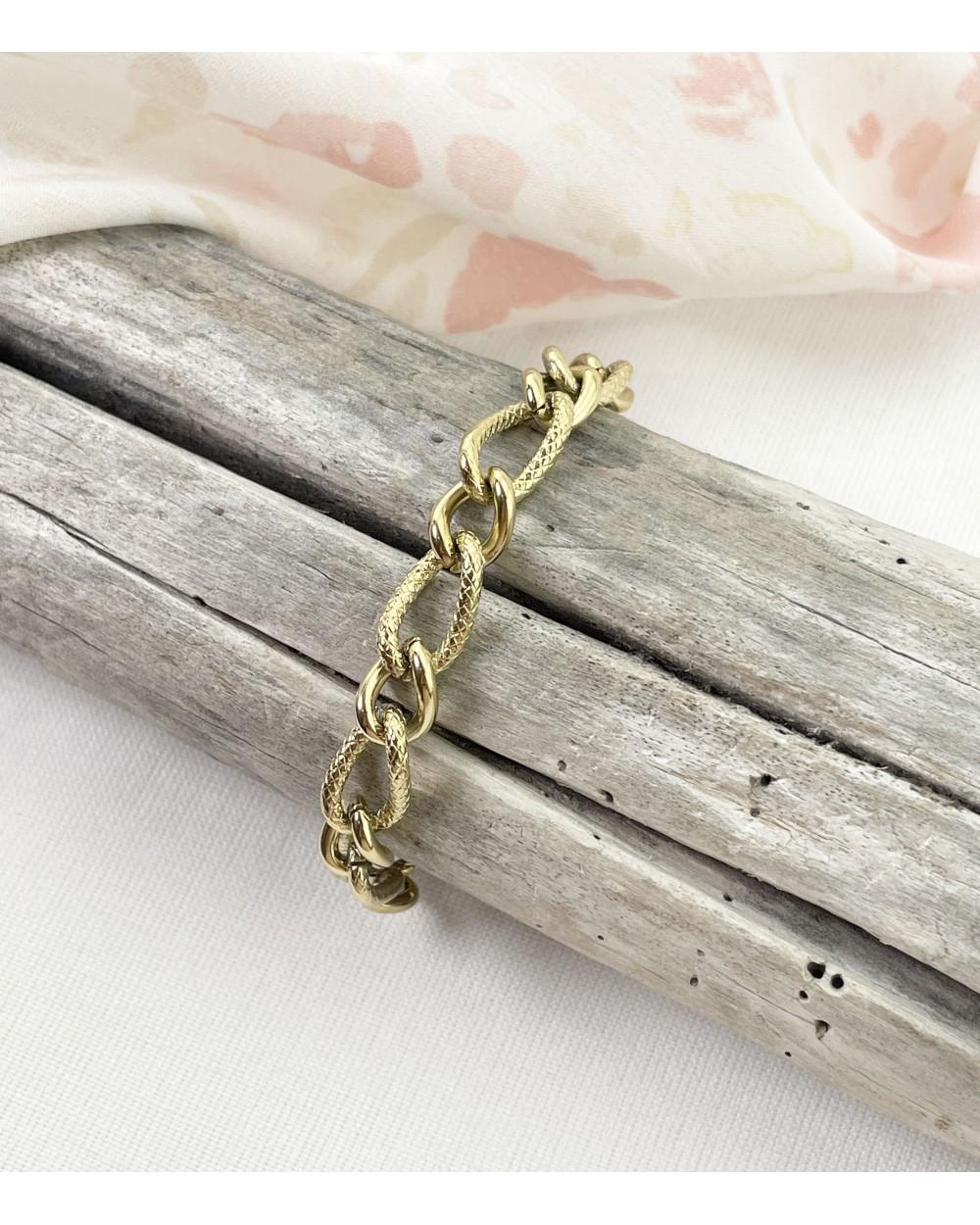 Bracelet Tess - Acier chirurgical - Bracelet chaîne tendance - Bijoux tendance - Paloma Bijoux