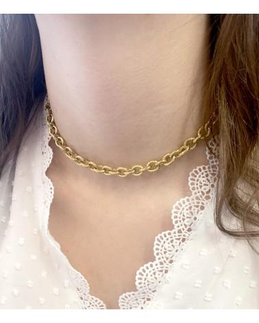 Paloma Bijoux - collier en acier inoxydable