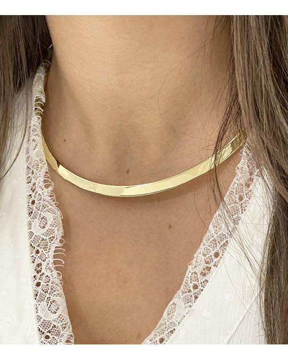 Collier torque - Acier chirurgical - Bijoux tendance - Paloma Bijoux