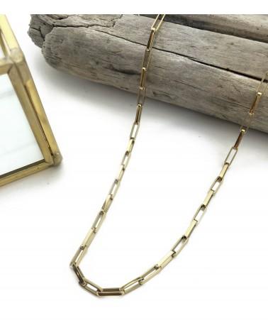 bracelet maille rectangle